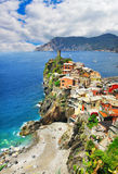 Vernazza - Cinque terre, Italy Stock Photography