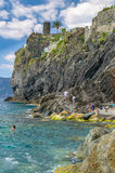 Vernazza Cinque Terre Italy. Beautiful view of Vernazza - Cinque Terre, Italy Royalty Free Stock Image