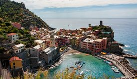 Vernazza Cinque Terre - Italy stock images