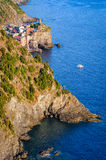 Vernazza (Cinque Terre Italy) Stock Images