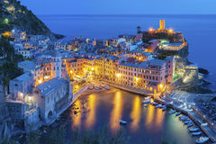 Vernazza, Cinque Terre, Italy Stock Photography