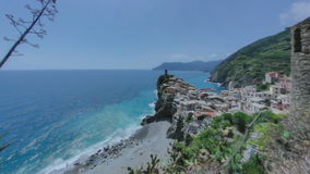 Vernazza Cinque Terre Italy stock video footage