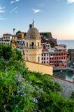 Vernazza (Cinque Terre Italy) Stock Photos
