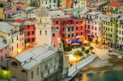 Vernazza (Cinque Terre Italy) Stock Image