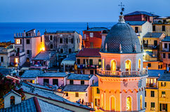 Vernazza (Cinque Terre Italy) Royalty Free Stock Images