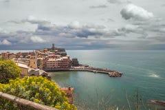 Vernazza, Cinque Terre, Italyy. Royalty Free Stock Images