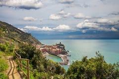 Vernazza, Cinque Terre, Italyy. Stock Image