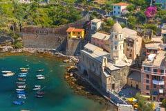Vernazza, Cinque Terre, Liguria, Italy Royalty Free Stock Photo