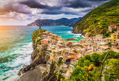 Vernazza, Cinque Terre, Liguria, Italy Royalty Free Stock Photography