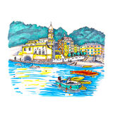 Vernazza, Cinque Terre, Liguria, Italy Royalty Free Stock Photo