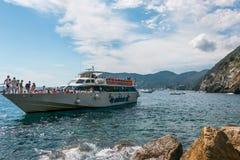 Vernazza Cinque Terre, Tuscany Royaltyfria Foton