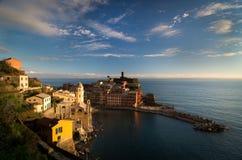 Vernazza, Cinque Terre, Włochy Fotografia Stock