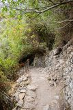 Vernazza - Corniglia Path Royalty Free Stock Photography