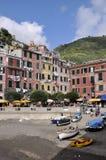 Vernazza dans Cinque Terre Photos libres de droits