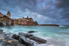 Vernazza em Cinque Terre Imagem de Stock Royalty Free
