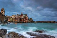 Vernazza em Cinque Terre Imagens de Stock Royalty Free