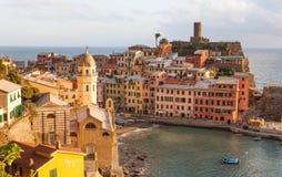 Vernazza Italië Royalty-vrije Stock Foto