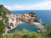 Vernazza Italië Stock Foto