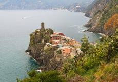 Vernazza, Italia Fotografia Stock