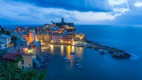 Vernazza Italia Fotografía de archivo