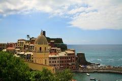 Vernazza, Italien Lizenzfreie Stockfotos