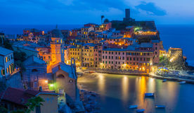 Vernazza Italien Lizenzfreies Stockfoto
