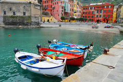Vernazza Italy Stock Image