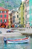 Vernazza Italy fotografia de stock