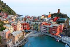 Vernazza Italy fotos de stock
