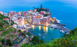 Vernazza Italy Stock Images