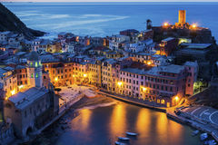 Vernazza in Italy Stock Photo