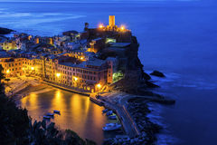 Vernazza in Italy Stock Images