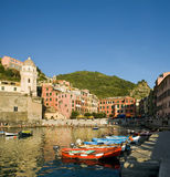 Vernazza, Italy UNESCO Royalty Free Stock Image