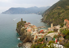 Vernazza, Italy. Royalty Free Stock Images