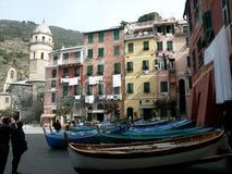 Vernazza - l'Italie Images libres de droits