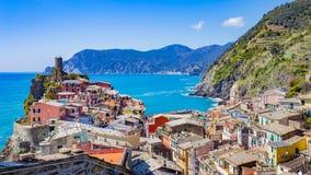 Vernazza in La Spezia, Italy stock photos