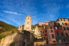 Vernazza Liguria Italy Stock Image