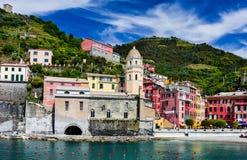 Vernazza, Cinque Terre Zdjęcia Stock