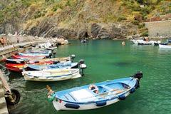 Vernazza marina Royalty Free Stock Images