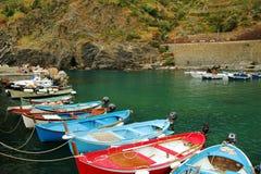 Vernazza marina Stock Images