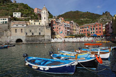 Vernazza Marina Royalty Free Stock Image
