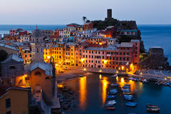 Vernazza in the Morning Light Royalty Free Stock Image