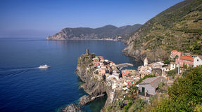 Vernazza sea resort Stock Photography