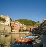 Vernazza, Unesco van Italië royalty-vrije stock afbeelding