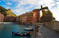 Vernazza Royalty Free Stock Photo