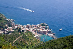 Vernazza village Stock Photography