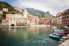 Vernazza village, Cinque Terra, Italy Royalty Free Stock Image
