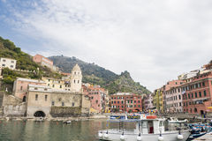 Vernazza village, Cinque Terra, Italy Stock Photo