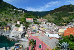 Vernazza village in the Cinque Terre, Italy Stock Photos
