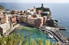 Vernazza village - Cinque Terre Royalty Free Stock Photography